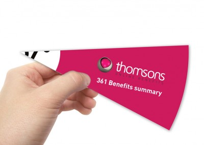 Thomsons | Graphic Design