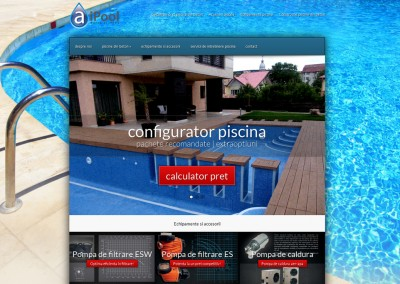 Firma servicii piscine | WordPress Site